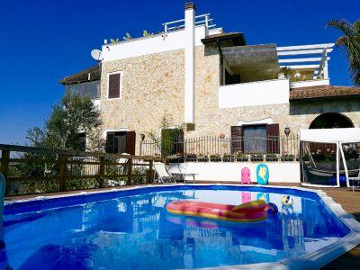 Casa vacanza Fiore con piscina e vista mare a Gallipoli